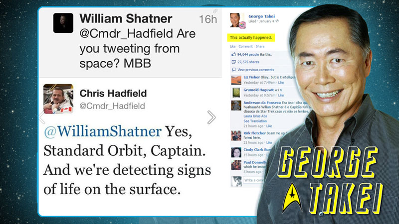 canadian astronaut chris hadfield tweets with star trek crew from space (5)