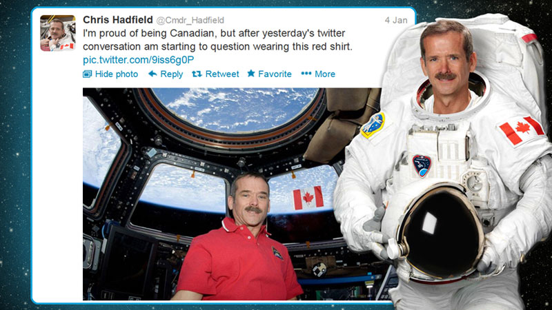 canadian astronaut chris hadfield tweets with star trek crew from space (7)