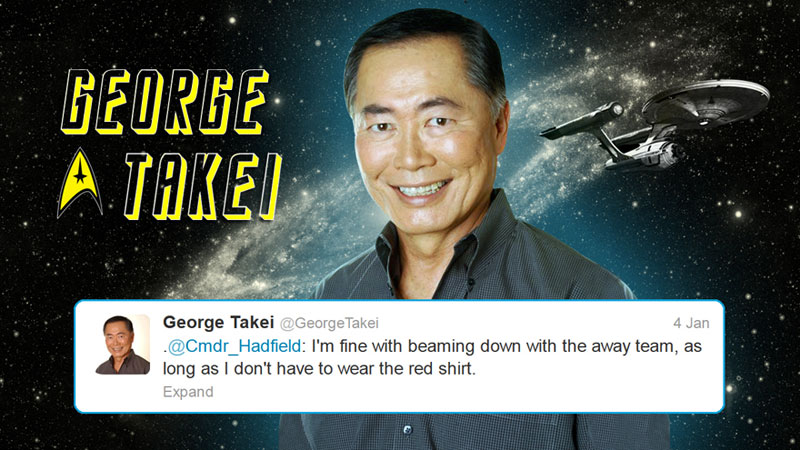 canadian astronaut chris hadfield tweets with star trek crew from space (8)