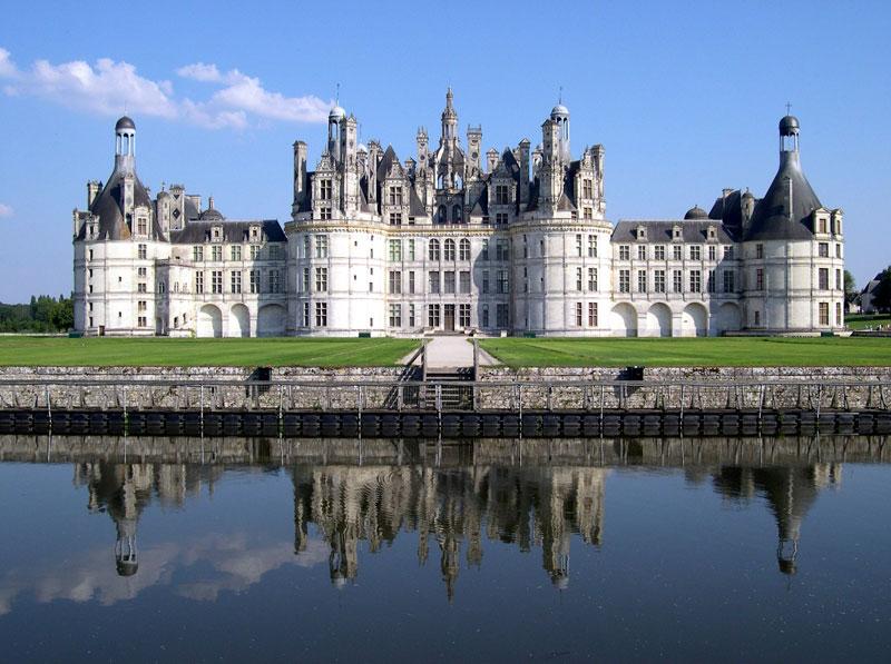 Chateau de Chambord Loir-et-Cher France