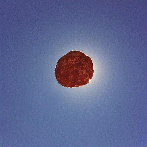 cheese ball solar eclipse brock davis instagram The iPhone Photography of Brock Davis