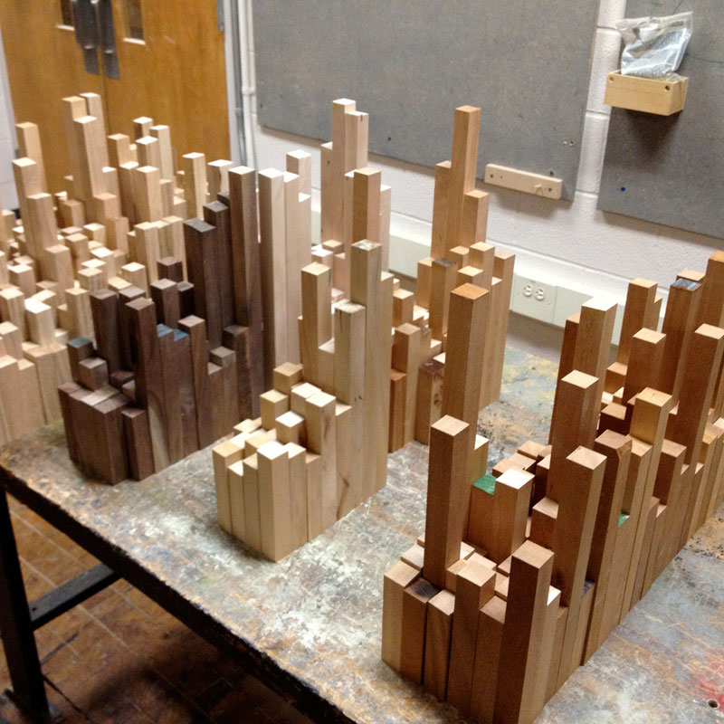 cityscape sculpture carved from wood james mcnabb (3)