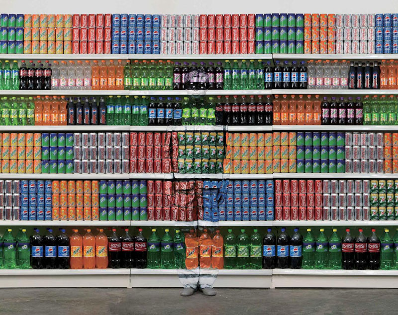 liu bolin art hi res hide in the city china camouflage painting 16 Finding the Locations of Famous Album Covers