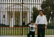 Picture of the Day: Pablo Escobar Visits the White House
