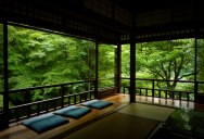 Picture of the Day: Japanese Tea Room in Kyoto