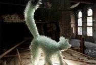 Shattered Glass Animal Sculptures by Marta Klonowska
