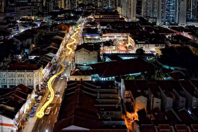 snake lantern singapore aerial 2013 chinese new year Picture of the Day: Singapore Snake Lantern