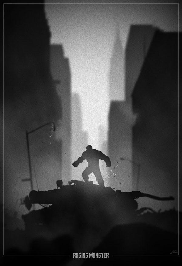 Superhero Noir Posters by Marko Manev (10)