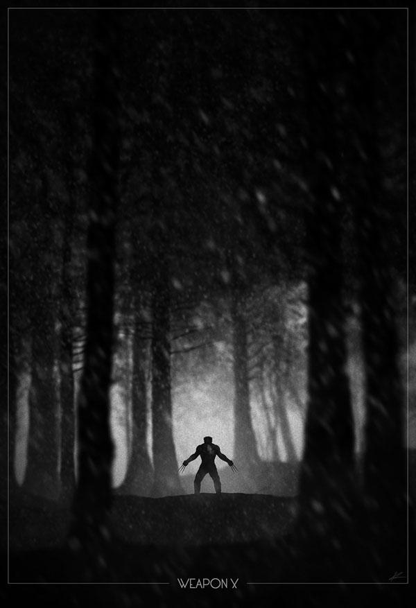 Superhero Noir Posters by Marko Manev (5)