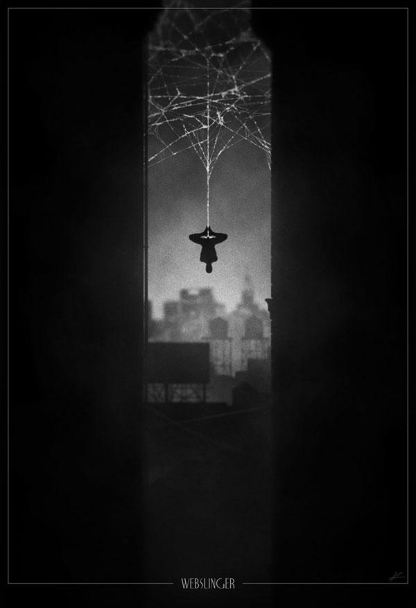 Superhero Noir Posters by Marko Manev (6)