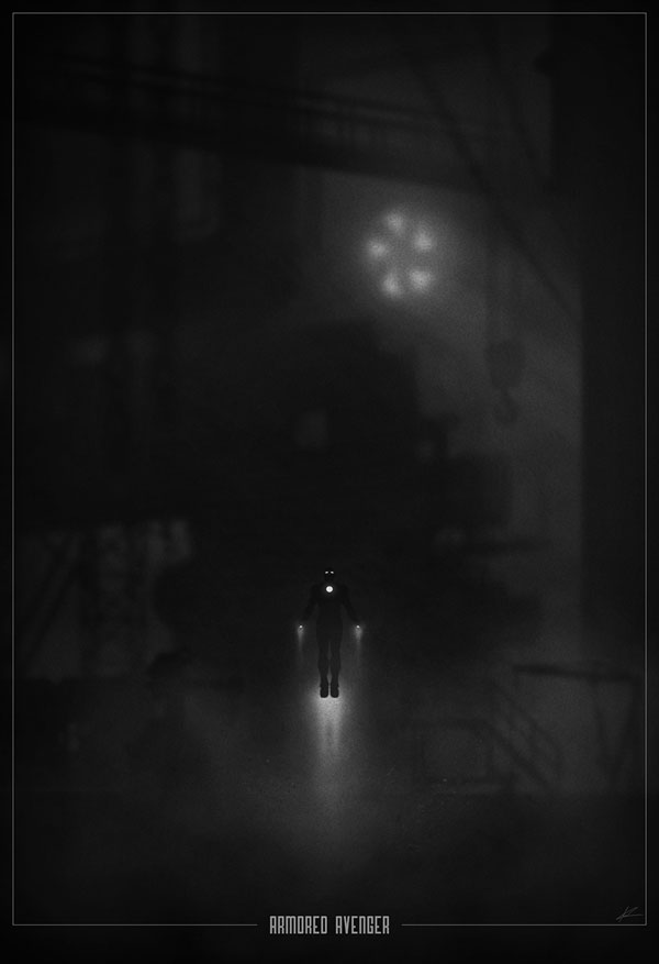 Superhero Noir Posters by Marko Manev (8)