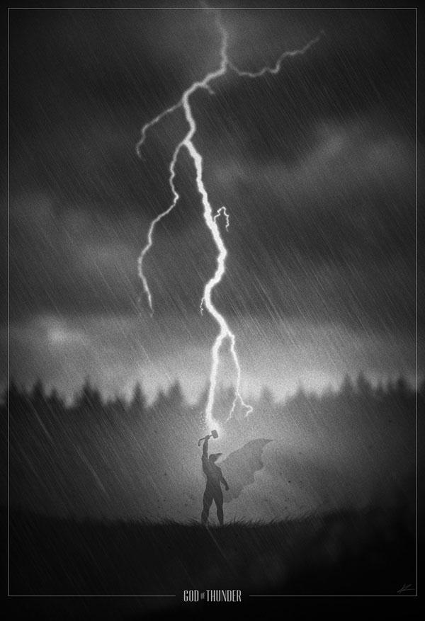 Superhero Noir Posters by Marko Manev (9)