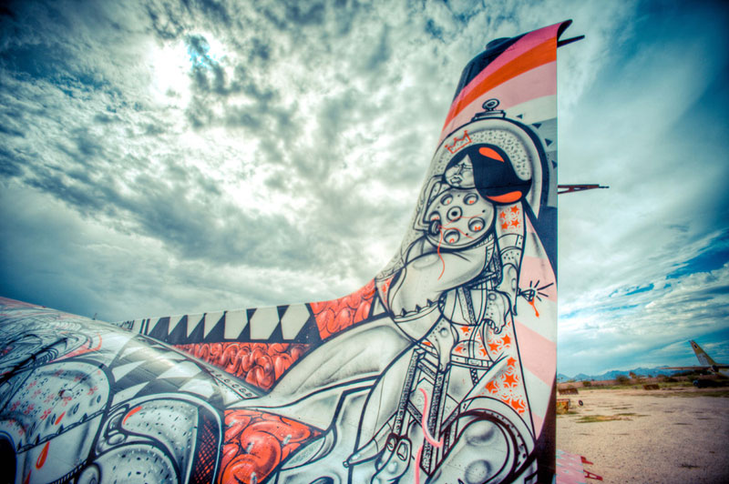 the boneyard project art on old planes (12)