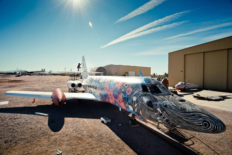 the boneyard project art on old planes (21)