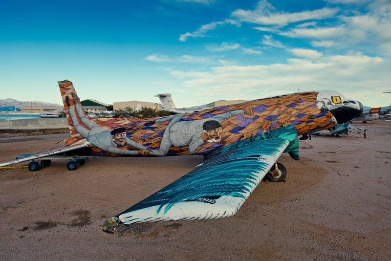 the boneyard project art on old planes (22)