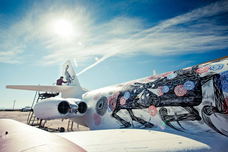 the boneyard project art on old planes (25)