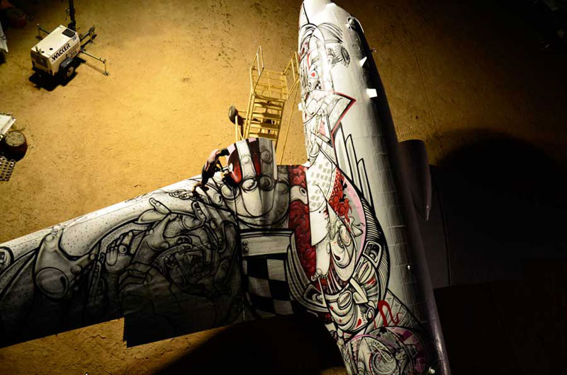 the boneyard project art on old planes (26)