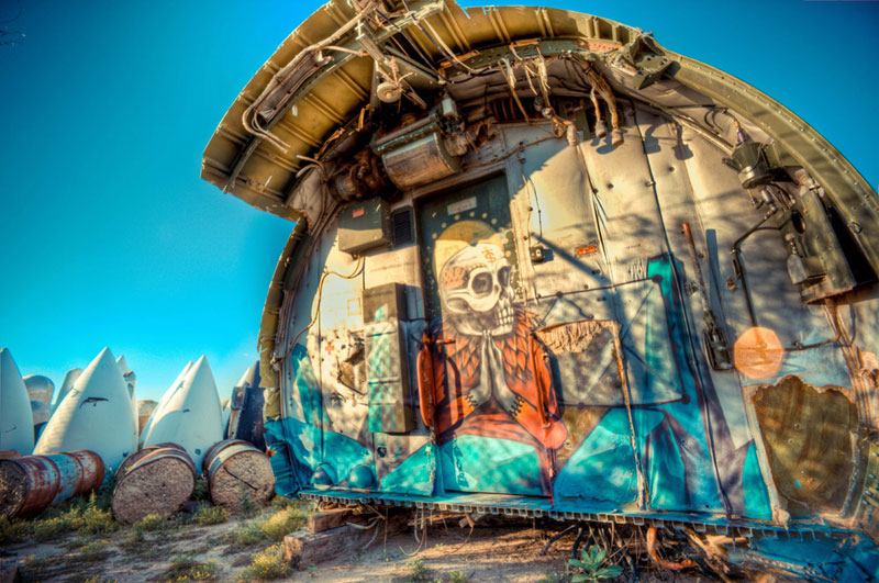 the boneyard project art on old planes (6)