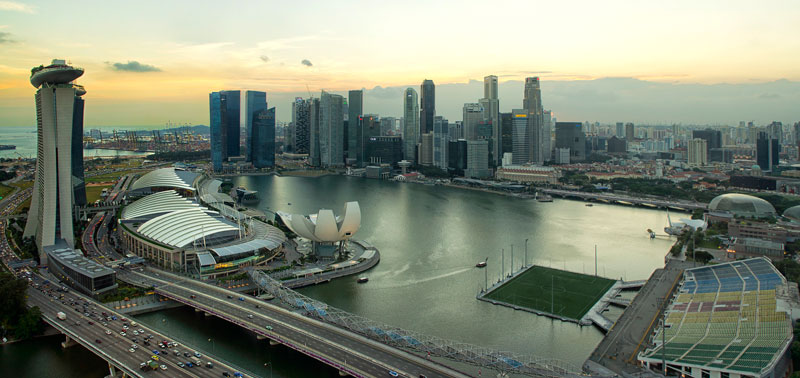 the float at marina bay singapore floating field stage worlds largest (1)