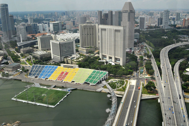 the float at marina bay singapore floating field stage worlds largest (6)
