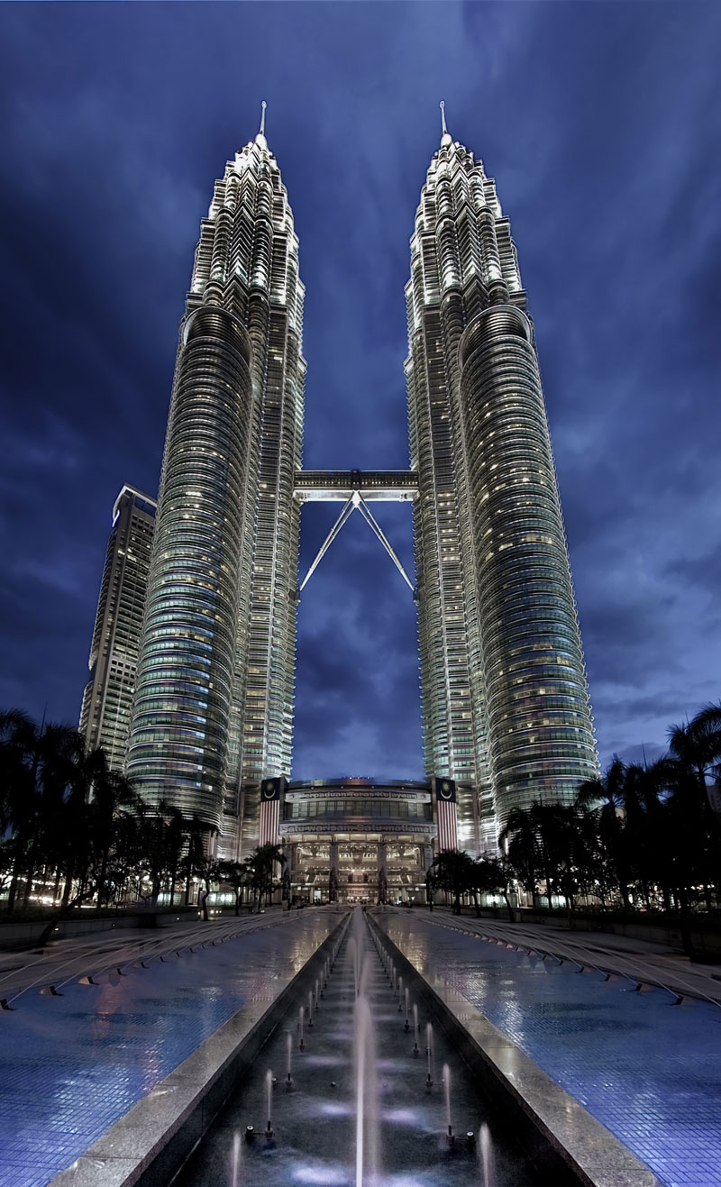 the petronas towers kuala lumpur malaysia Picture of the Day: The Petronas Towers