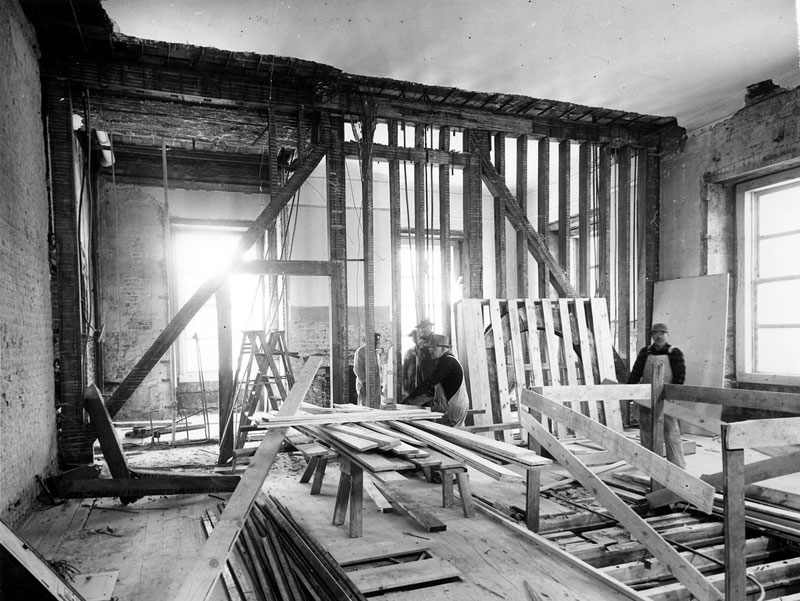 white house gutted truman restoration 1949 - 1951 (11)