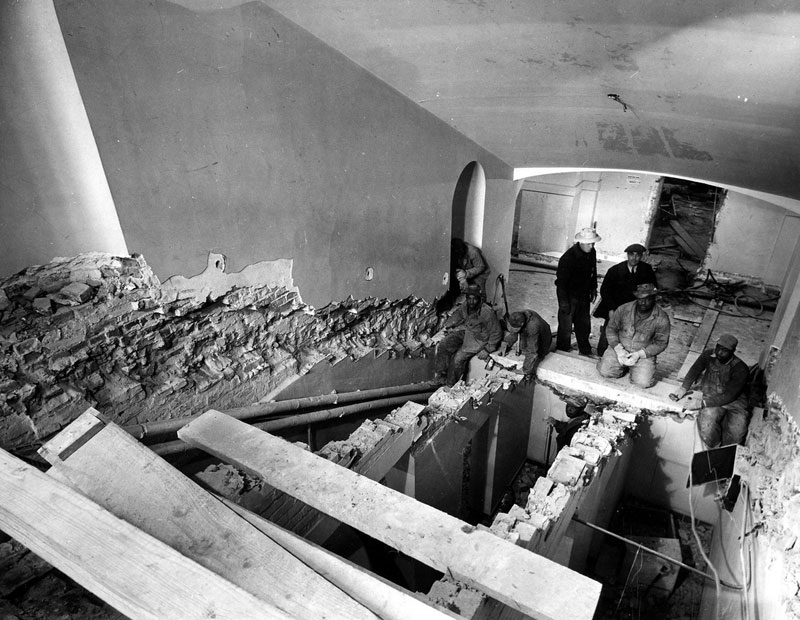 white house gutted truman restoration 1949 - 1951 (9)