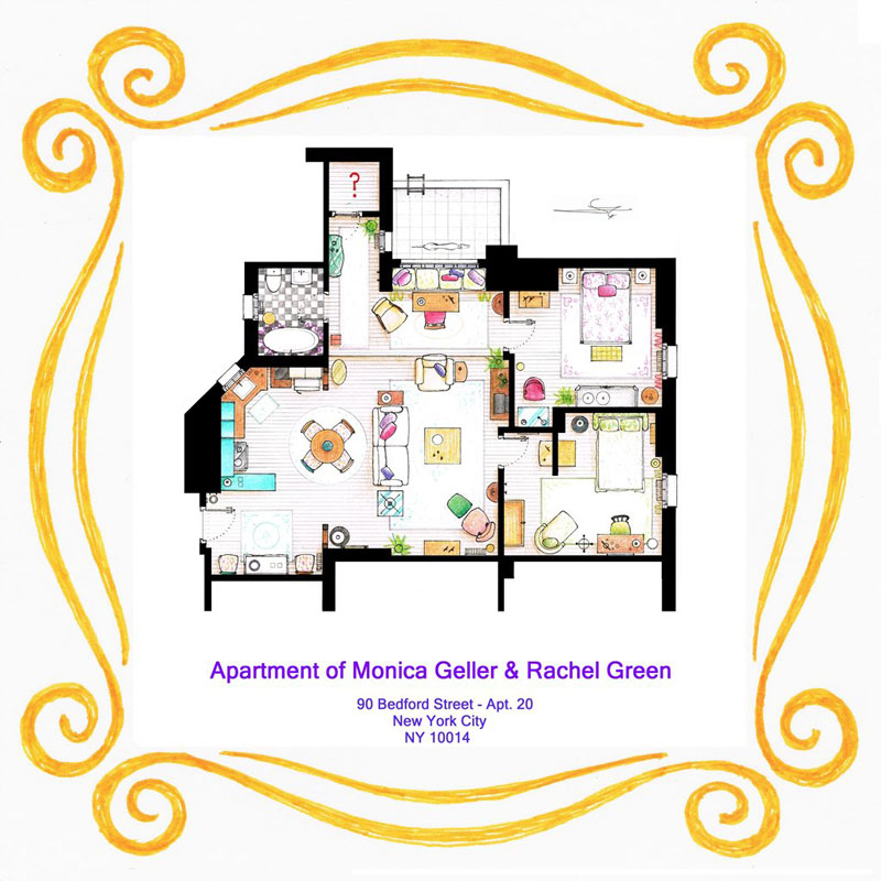 apartment_floor plan-of_monica_and_rachel_from_friends_by_Inaki Aliste Lizarralde-nikneuk