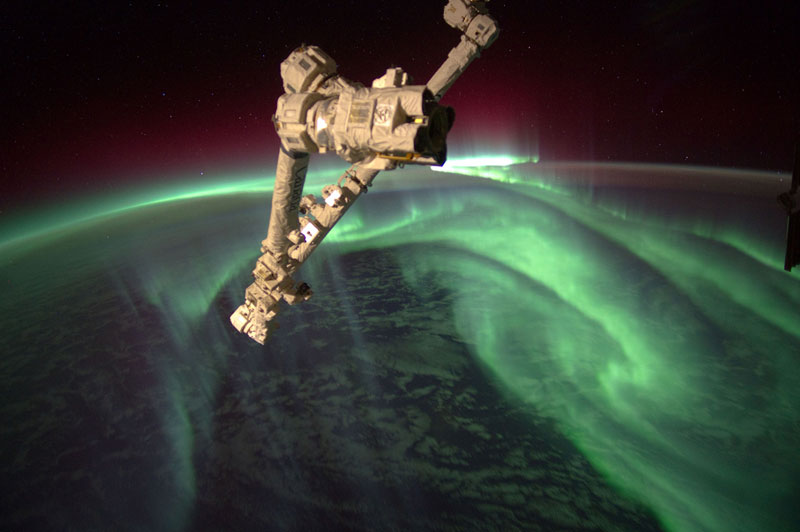 aurora astralis from space The Top 25 Pictures of the Day for 2013