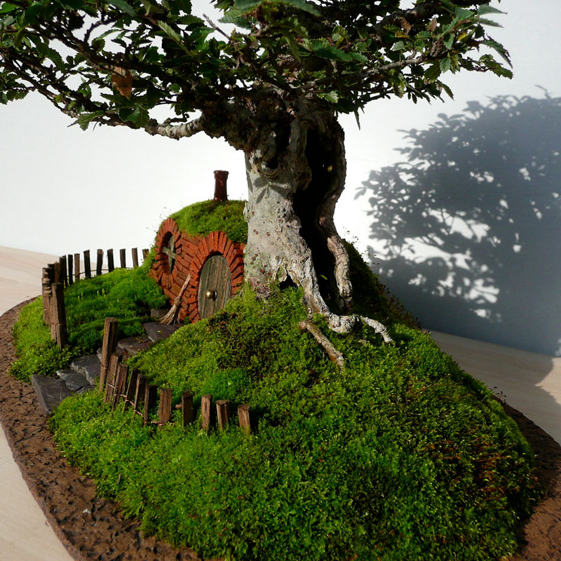 bonsai baggins hobbit home by chris guise (3)