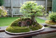 A Bonsai Version of the Baggins Hobbit Home
