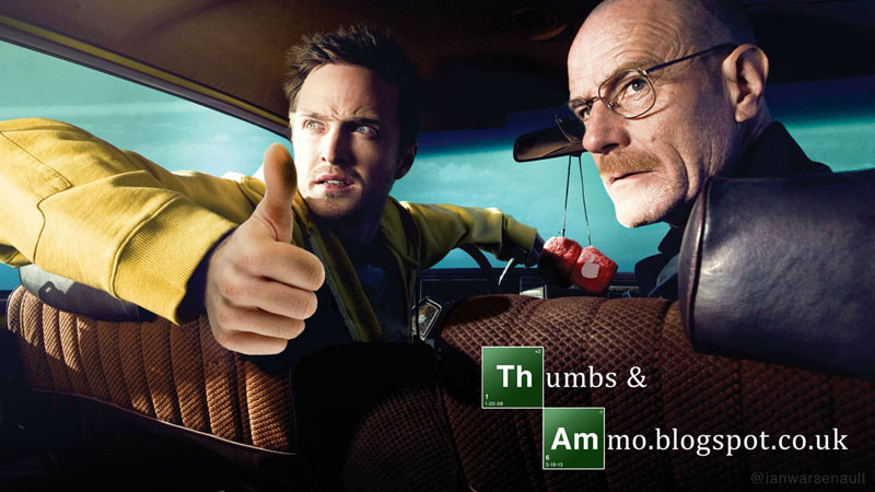 breaking bad thumbs up ian warsenault Swapping Guns for Thumbs
