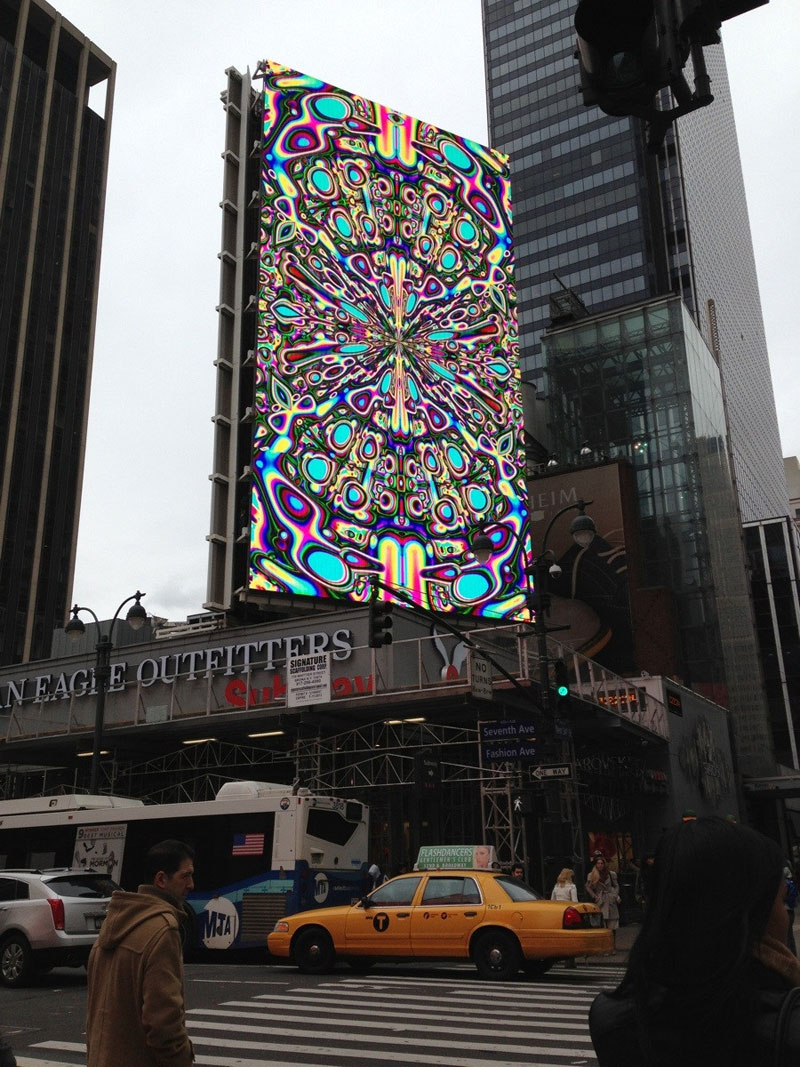 calibrating a digital billboard Picture of the Day: Calibrating a Digital Billboard
