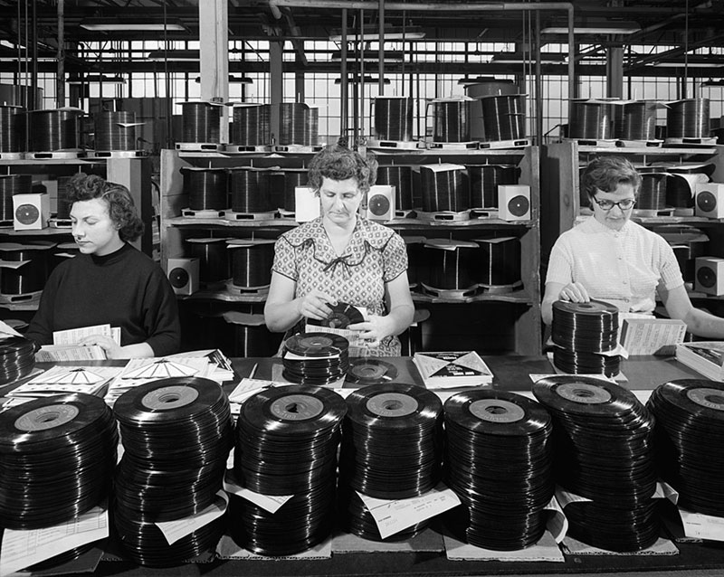 CBS-Columbia-Records,-1953--ezra-stoller
