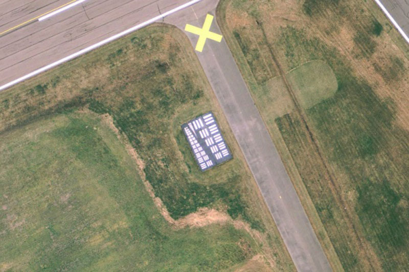 eye charts for airplanes aerial cameras calibration targets (8)