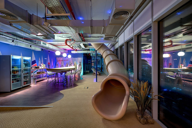Google's Eclectic Tel Aviv Office Space [30 pics]