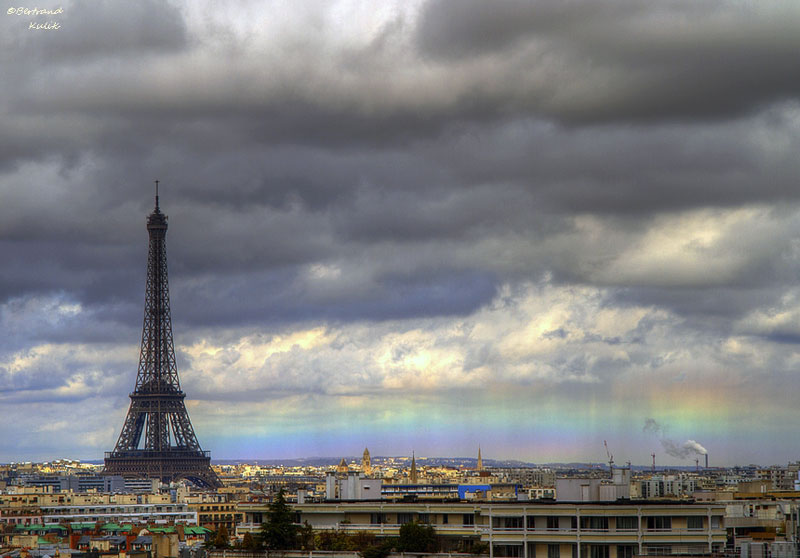 horizon rainbow in paris The Top 25 Pictures of the Day for 2013