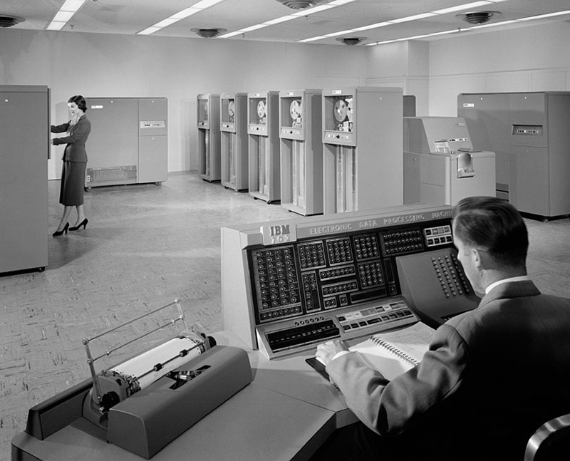IBM-702-Machine-1955-ezra-stoller
