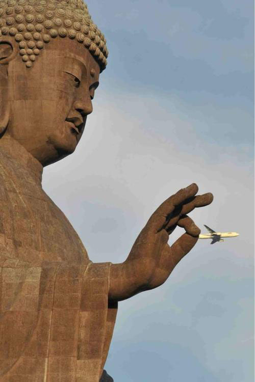 just a pinch buddah perfect timing 50 Amazing Finds on Google Earth
