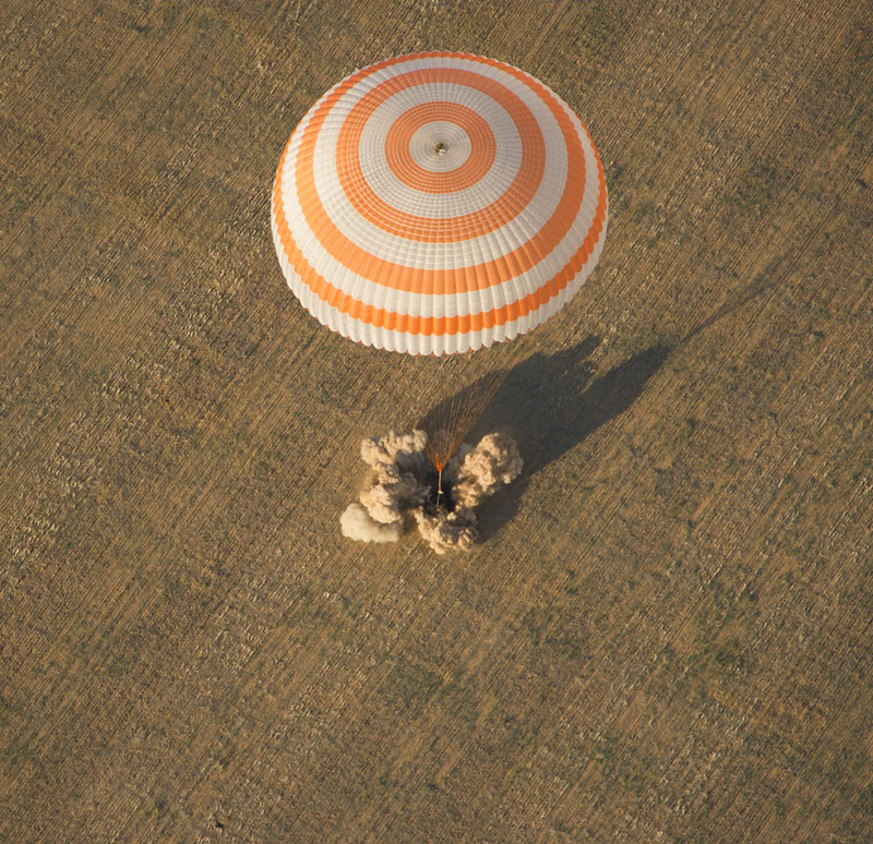 landing from space expedition 32 soyuz tma-04m spacecraft sept 17 2012