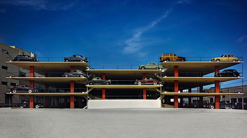 Miami-Parking-Garage,-Robert-Law-Weed-and-Associates,-Miami-FL,-1949-ezra-stoller