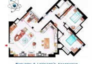 Detailed Floor Plans of TV Show Apartments