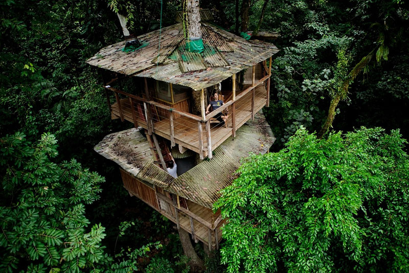 This Couple Built a Real-Life Ewok Village in Costa Rica