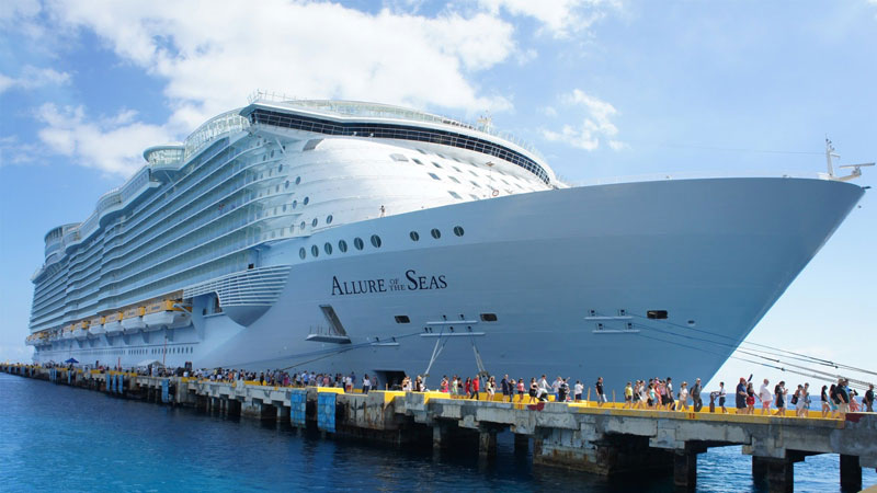 allure of the seas worlds largest passenger ship Behind the Scenes of the Worlds Largest Cruise Ship