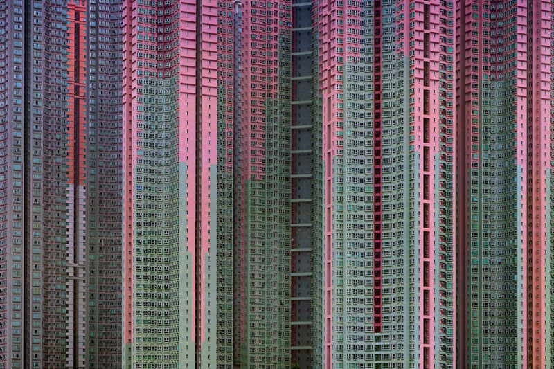 architectural density in hong kong michael wolf (3)