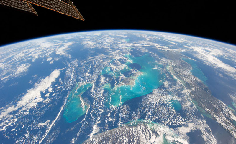 bahamas from space nasa Picture of the Day: The Bahamas from Space