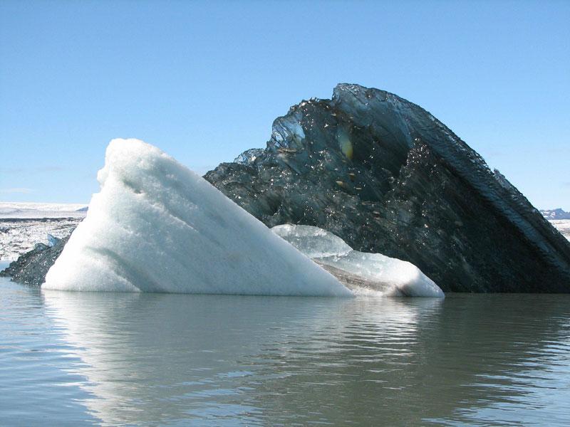 black iceberg Picture of the Day: The Black Iceberg