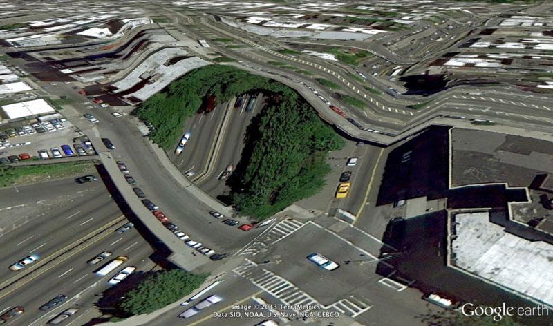When Google Earth Goes Awry