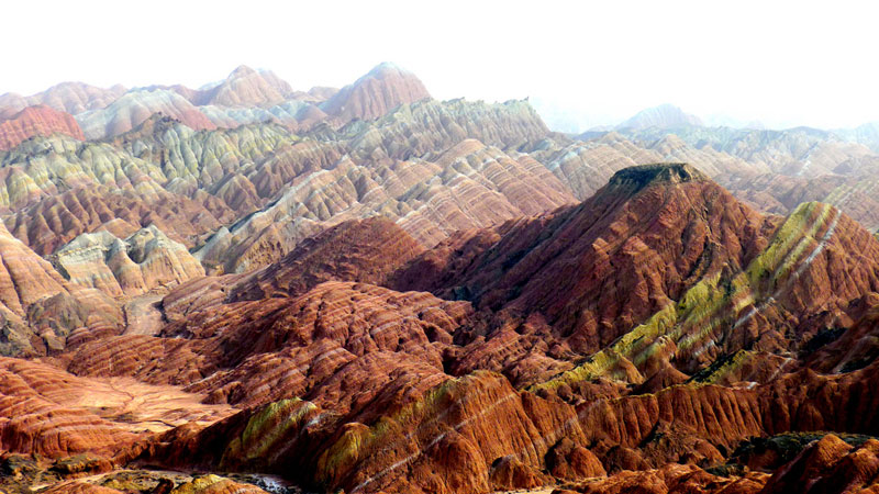 The Painted Landscapes of China Danxia