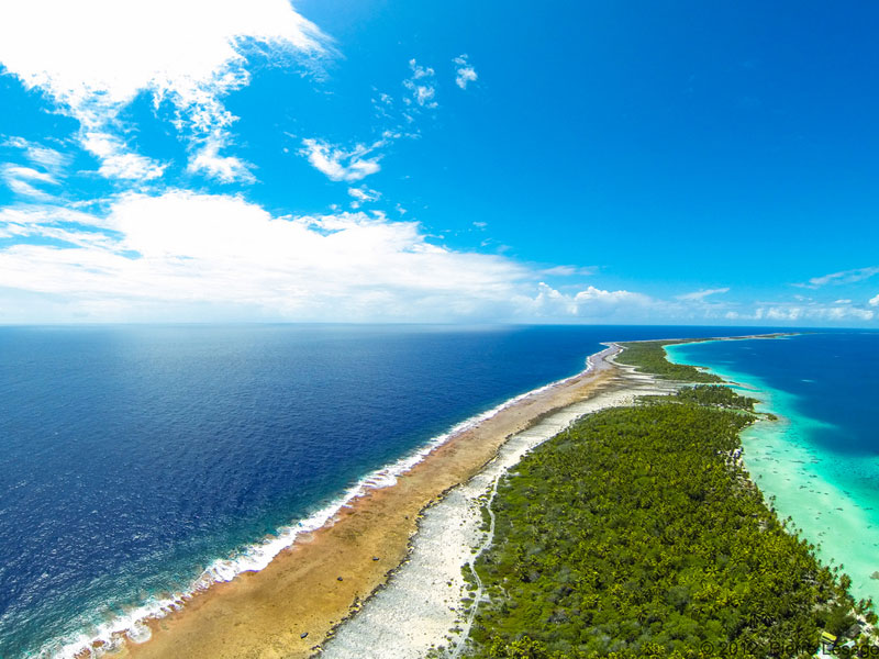 cocoperle lodge aerial ahe atoll french polynesia Picture of the Day: Ahe Atoll, French Polynesia